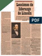 Caso Liderarzgo de Lincoln