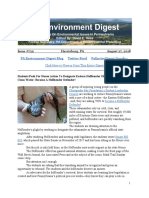 Pa Environment Digest August 27, 2018