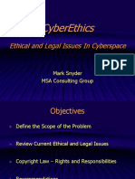 Cyber Ethics ppt