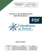 Manual de Radiologia Odontologica