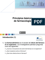 Presentation Principles of Pharmacology v1 ES
