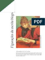 Figurações Da Escrita Biográfica - A. Avelar