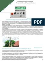 A necessidade de EPIs para Eletricistas