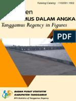Kabupaten Tanggamus Dalam Angka 2017