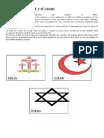 La Biblia La Torah y El Coran