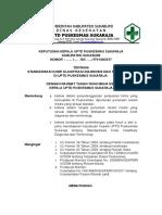 SK standarisasi kode klasifikasi .doc