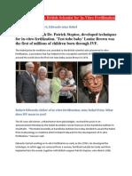 Nobel Awarded IVF