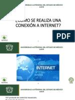 Cómo Se Realiza Una Conexión a Internet
