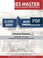 GATE 2018 Electrical Engineering 10-02-2018 Afternoon Session Detailed Solution