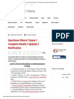 _Ayushman Bharat Yojana _ Complete Details _ Updates _ Notification 2018