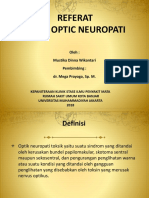 Toxic Optic Neuropathy