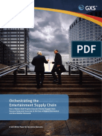 Wp Orchestrating the Entertainment Supply Chain