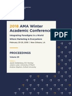 2018 Winter AMA Conference Proceedings