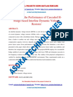 Improving the Performance of Cascaded H-bridge Based Interline Dynamic Voltage Restorer (2)