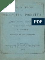 Principios de filosofía positiva - Augusto Comte.pdf