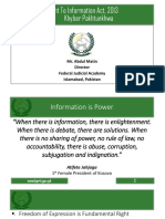 Right to Information Act by Abdul Matin.ppt