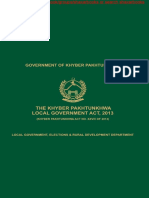 Khyber Pakhtunkhwa Local Government Act 2013.pdf