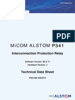 MiCOM Alstom P341 Technical Data Sheet GB-epslanguage=en-GB