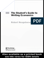 Robert H. Neugeboren-The Student's Guide to Writing Economics-Routledge (2005)