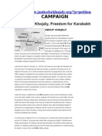 """""""Justice For Khojaly"""""""