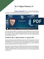 Prediksi Sevilla Vs Sigma Olomouc 31 Agustus 2011.docx
