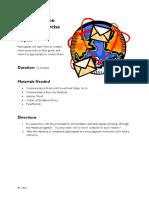 1b. Communication Exercise Instructions