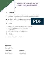 OmniVista 8770 Training Course