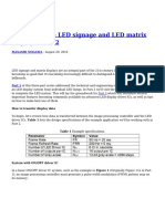 How to Design LED Signage and LED Matrix Displays