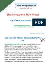 Magnetic Flow Meter  Gas Flow Meter   Ultrasonic Flow Meter  water flow meter  Industrial Flow Meter  Electromagnetic Flow Meter - Manasmicro