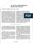 Career Patterns of the Self-Employed Career Motivations and Career Outcomes