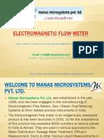 Portable water flow meter | Industrial Flow Meter | Digital flow meter | Water Flow Meter – Manasmicro