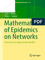 [Interdisciplinary Applied Mathematics 46] István Z. Kiss, Joel C. Miller, Péter L. Simon (Auth.) - Mathematics of Epidemics on Networks_ From Exact to Approximate Models (2017, Springer International Publishing)