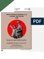 Pacto Germano - Sovietico | Robert Quillca Pacco