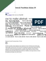 Menyusun Abstrak Penelitian dalam 30 Menit.rtf