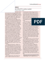 Extending Oversight of the EUs Carbon Market - IETA Article