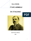 "Pierre Michel, ""Octave Mirbeau in Italiano"""