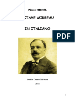 "Pierre Michel, ""Octave Mirbeau in Italiano"""