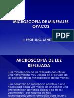 microoscopia de luz reflejada