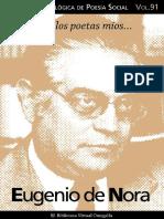 Cuaderno de Poesia n 091 Eugenio de Nora (1)