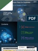 Blockchain Logistics - Koncept for Udveksling Af Informationer