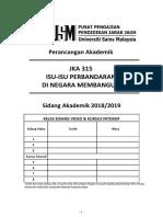 JKA 315 Sidang 2018 - 2019