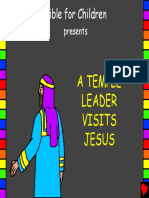 A Temple Leader Visits Jesus English