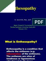 Dr. Jenal(Enthesiopathy)