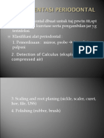 Instrumentasi Periodontal New