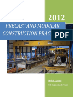 Precast and Modular Construction Practices