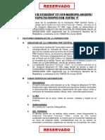 Apreciacion de Situacion e Informe de Riesgo Cima 19ago18