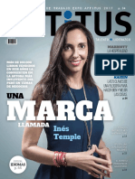 Entrevista Ines en Revista Aptitus Mayo 2017