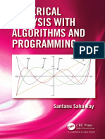 Saha Ray, Santanu - Numerical analysis with algorithms and programming (2016, CRC Press).pdf