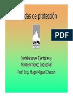 Inst. Electricas 8 Medidas de Proteccion