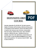 Defensive Driving Course 9-29-18a